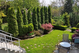 Ogród miejski w zabudowie szeregowej